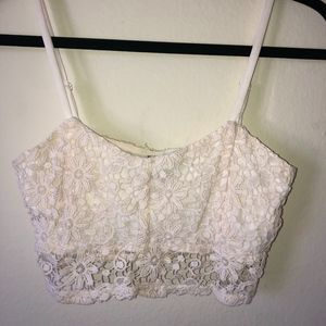 lace bralette top